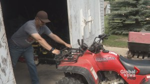 Fed-up farmer chases escaped inmates who allegedly stole ATV